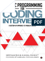 Dynamic Programming for Coding Interviews_ A Bottom-Up approach to problem solving