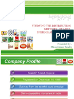 Summer Internship PPT on AMUL