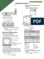Formulario de Dinamica (Univ.guzman Balcas Emeron)