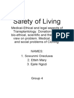 Safety of Living Project