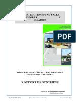 Interessant Model Rapport_Mensuel.Analyse et suivi travaux _Exemple salle omnisports 30.05.2015.xlsx