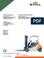 Still RХ20-15, 16, 18, 20  parts catalogue