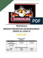 protocolo bioseguridad polleria lima covid 19