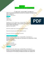 Business Ethics - MGT610 Quiz 1.pdf