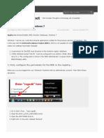 Configuring BDE for Windows 7 _ willneumann