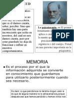 Memoria Psiquiatría