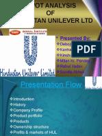 SWOT Analysis of Hindustan Unilever Ltd.