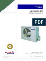38HC-QC-057-072 Condensador p-t y cassette