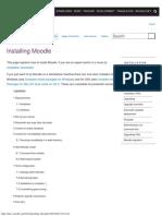 Installing Moodle - MoodleDocs