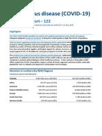 Coronavirus disease (COVID-19) Situation Report–122