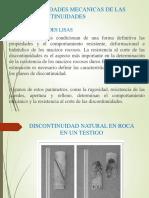 PROPIEDADES MECANICAS DE LAS DISCONTINUIDADES (2)