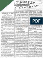 Fénix de la Libertad, 1833-06-01, Falta de ocupación significa facilidad de conmover a los pueblos