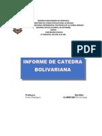 catredra bolivar