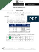 PA3 planificacion y control de la produccion