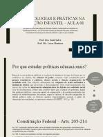 Políticas Públicas - aula 01