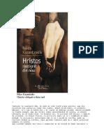 Kazantzakis, Nikos - Hristos Răstignit a Doua Oară