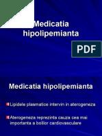Medicatia hipolipemianta 2018