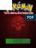 Pokemon Tabletop Adventures - GM Guide 2.1