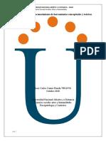 Unidad 2 Paso 2 - Reconocimiento de herramientas conceptuales y teóricas