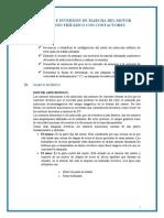 Informe 9 - Franciss Raul Barrios Velarde