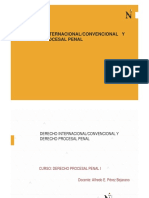 diapositivas DPP I SESION 2 - DERECHO INTERNACIONAL - CONVENCIONAL Y DERECHO PROCESAL PENAL