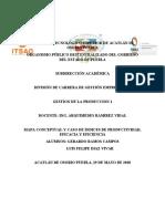 GESTION DE LA PRODUCCION TRABAJO 2