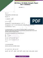 Cbsc 12 paper solution