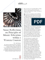 CMC Papers 1 - Reflections on Education by AImtiaz