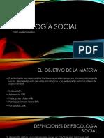 clase 1 psicología social