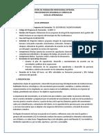 GUIA EJECUCIÓN. E INFORMACIÓN  PLAN DE CAP GFPI-F-019_Formato_Guia_de_Aprendizaje
