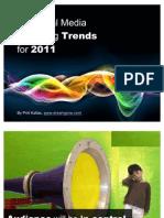 17 Social Media Marketing Trends for 2011