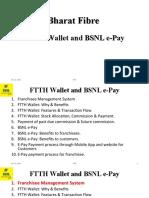 Bharat Fibre-Wallet and BSNL e-Pay