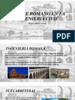 APORTE ROMANO EN LA INGENIERIA CIVIL