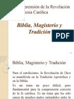 Bibila, Magisterio y Tradición con audio