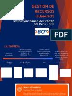 Gestion y Desarrollo Humano Bcp