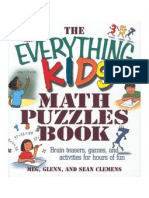 The Everything Kids Math Puzzles Book