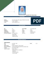 Resume BalQisha