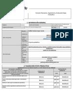 Formato Planeación impreso