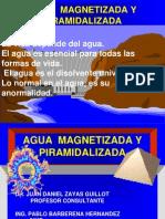 Aguamagnetizada y piramidalizada