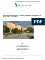 Shortlisted Competition Entry_ National War Museum at New Delhi, by Collaborative Architecture - ArchitectureLive!