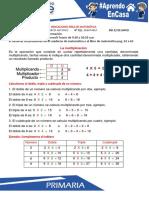 Matemática La Multiplicación