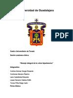 Caso Clinico 2 URGENCIA HIPERTENSIVA