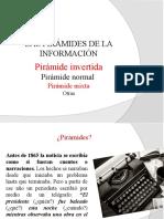 Las pirámides de la información