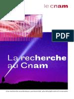 La recherche au Cnam 2019_Web