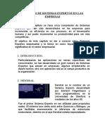 EJEMPLOS DE SISTEMAS EXPERTOS EN LAS EMPRESAS