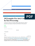 30 Examples For Awk Command In Text Processing