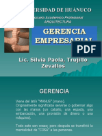 Sesion 1 - Gerencia Empresarial