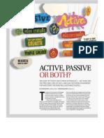 Liquid - Active or Passive
