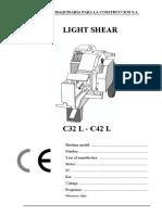 Alba Light Shear SP LIST for C 32-42 L