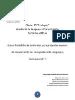 Guía Lenguaje y Comunicación II_2015